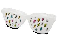 Pouzdra na kontaktní čočky - Pouzdro na čočky Optishades - bílé
