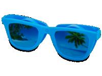 Pouzdra na kontaktní čočky - Pouzdro na čočky Optishades - modré