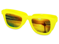 Pouzdra na kontaktní čočky - Pouzdro na čočky Optishades - žluté