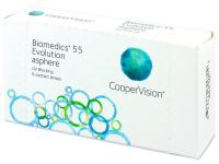 Měsíční kontaktní čočky - Biomedics 55 Evolution