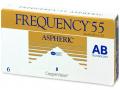 Měsíční kontaktní čočky - Frequency 55 Aspheric