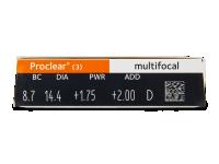 Proclear Multifocal (3čočky)