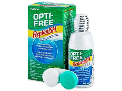 Roztok OPTI-FREE RepleniSH 120 ml