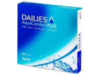 Jednodenní kontaktní čočky - Dailies AquaComfort Plus