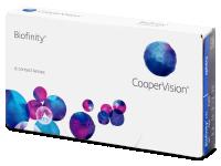 Kontaktní čočky levně - Biofinity