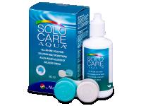 Roztoky na kontaktní čočky - Roztok SoloCare Aqua 90 ml