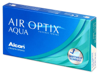 Kontaktní čočky Alcon - Air Optix Aqua