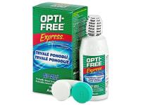 Kontaktní čočky levně - Roztok OPTI-FREE Express 120 ml