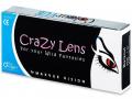 Barevné kontaktní čočky - ColourVUE Crazy Lens - dioptrické tříměsíční