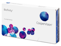 Měsíční kontaktní čočky - Biofinity