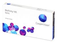Měsíční kontaktní čočky - Biofinity XR Toric
