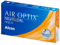 Kontaktní čočky Alcon - Air Optix Night and Day Aqua