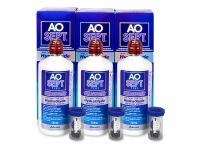 Roztoky na kontaktní čočky - Roztok AO SEPT PLUS HydraGlyde 3 x 360ml